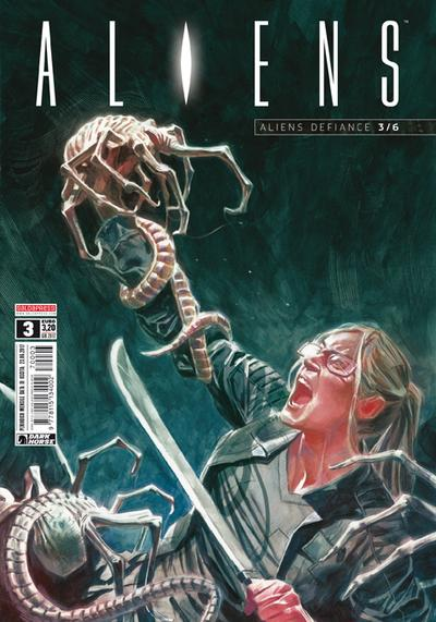 Cover image of Aliens #3, color