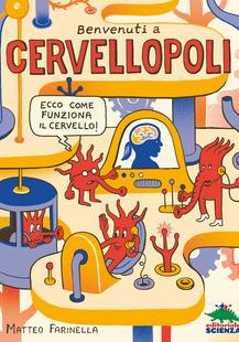 Cover image of Benvenuti a Cervellopoli, color