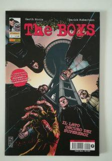 Cover image of The Boys n. 1, color