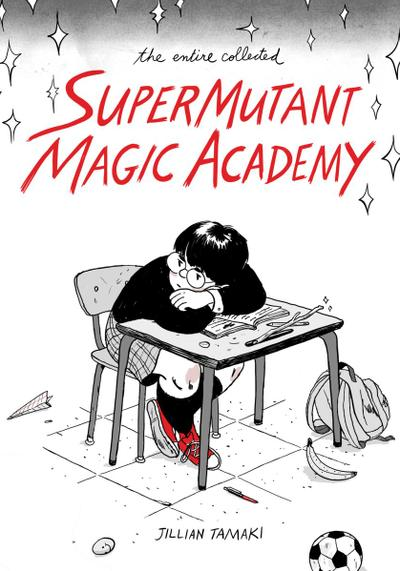 Cover image of SuperMutant Magic Academy, black&white