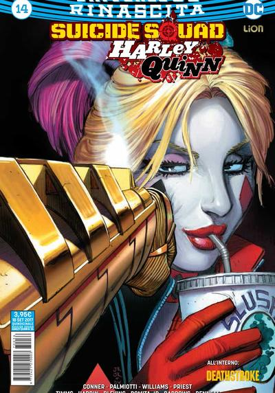 Cover image of Suicide Squad / Harley Quinn Rinascita #14, color