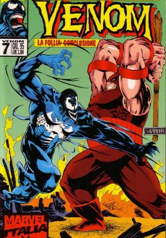 Cover image of Venom n.7 ( Marvel Italia ), color