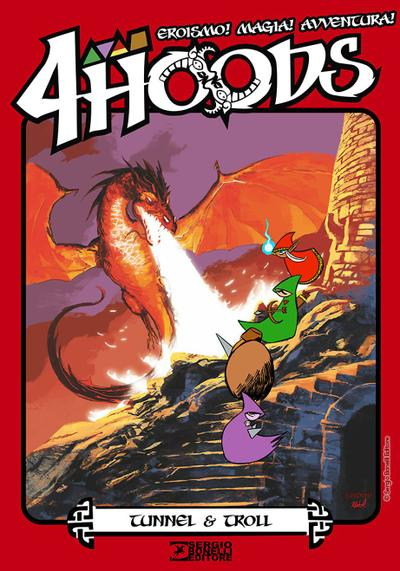 Cover image of 4Hoods #0, color