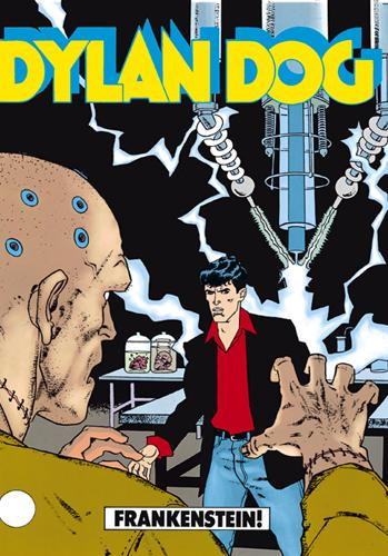 Cover image of Dylan Dog #60, black&white