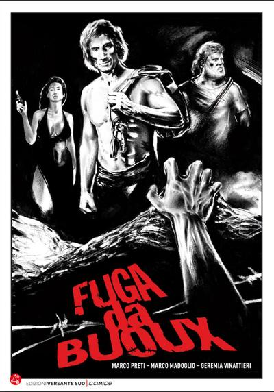 Cover image of Fuga da Boux, black&white