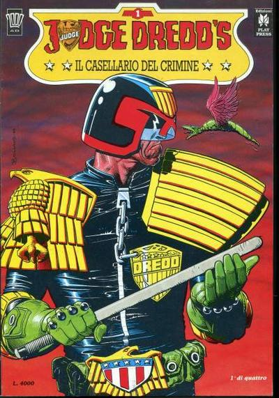 Cover image of Judge Dredd - Il casellario del crimine (1/4), color
