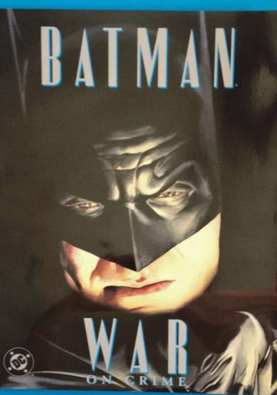 Cover image of BATMAN: War on Crime, color