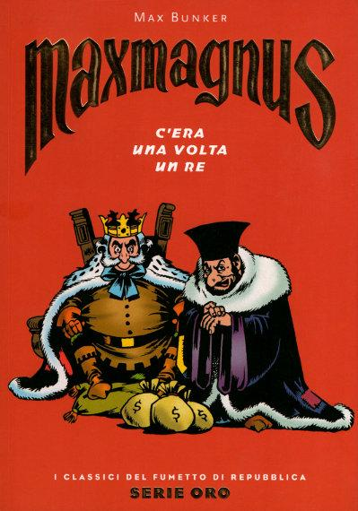 Cover image of Maxmagnus - C'era Una Volta Un Re #51, black&white
