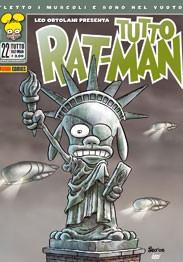 Cover image of Tutto Rat-Man #22, black&white