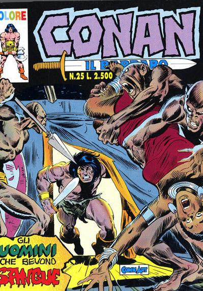 Cover image of Conan il Barbaro #25 (Comic Art), color