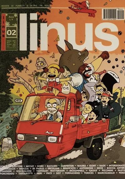 Cover image of Linus #645, color