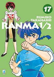 Cover image of Ranma 1/2 New edition #17 (ITA), black&white
