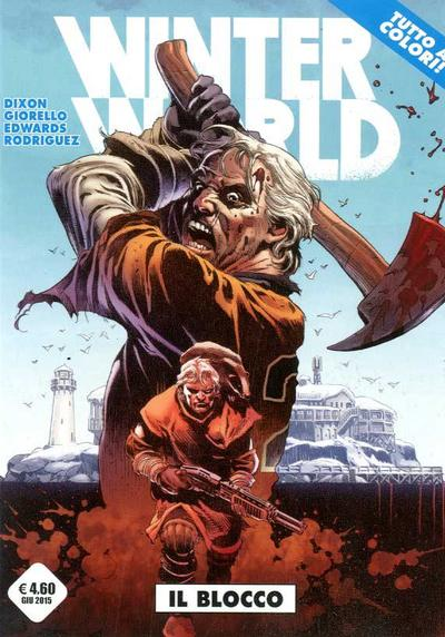 Cover image of Winterworld #2 - Il blocco, color