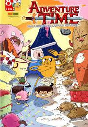 Cover image of Adventure Time #8 (ITA), color
