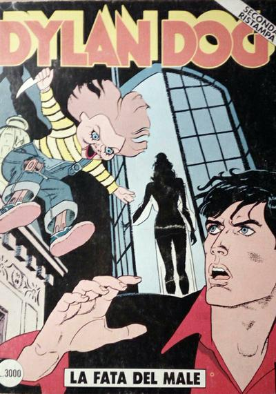 Cover image of Dylan Dog #79, black&white