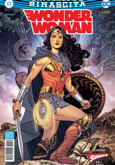 Cover image of Wonder Woman Rinascita #17, color