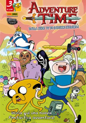 Cover image of Adventure Time #3 (ITA), color