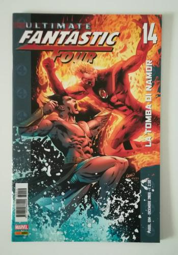Cover image of Ultimate Fantastic Four 14 – dicembre 2006, color