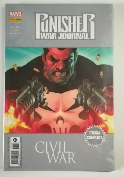 Cover image of Punisher War Journal ( Marvel Mega n. 40 ) Panini Comics agosto 2007, color