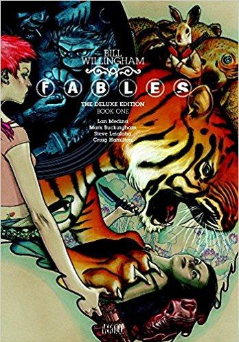 Cover image of Fables deluxe 1, color