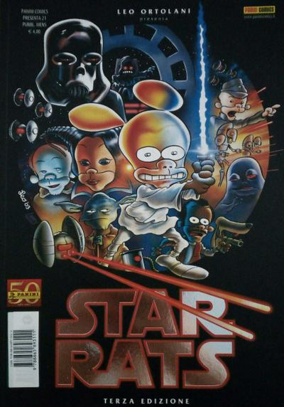 Cover image of Star Rats - Episodio IV, black&white