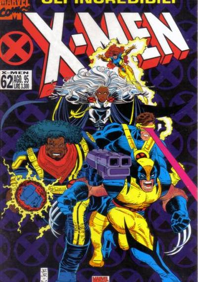 Cover image of Gli Incredibili X-Men #62, color