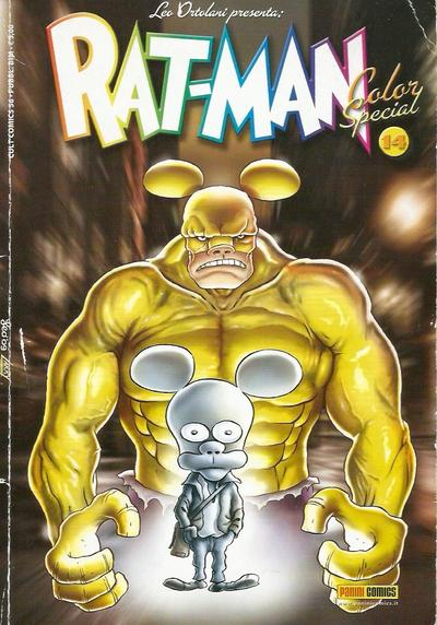 Cover image of Rat-Man Color Special #14, color