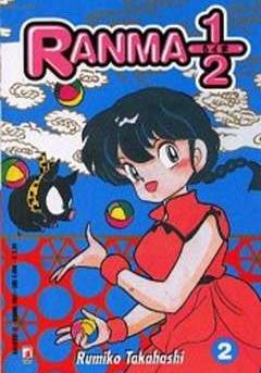 Cover image of Ranma 1/2 New #02 (ITA), black&white