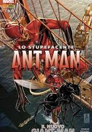 Cover image of Lo stupefacente Ant-Man #3, color
