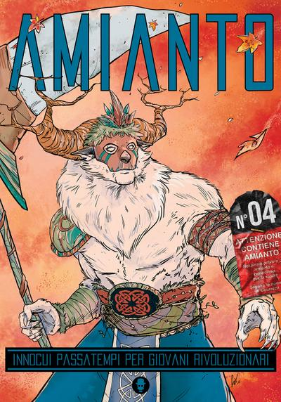 Cover image of Amianto #04, black&white