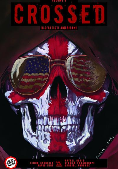 Cover image of Crossed #8, color