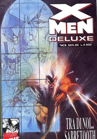 Cover image of X-Men Deluxe #10, color