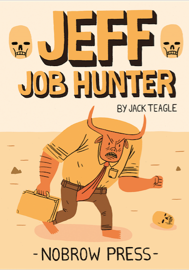 Cover image of Jeff Job Hunter, color