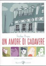 Cover image of Un amore di cadavere, color
