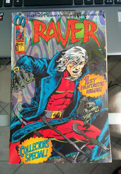 Cover image of Raver, n.1a ( di 3 ), color