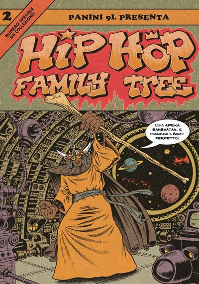 Cover image of Hip Hop Family Tree #2 (ITA), color