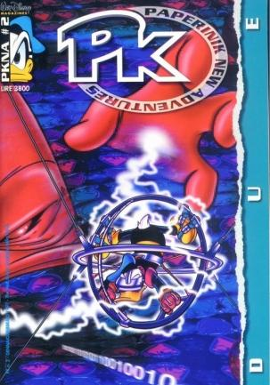 Cover image of PK - Paperinik New Adventures #2, color