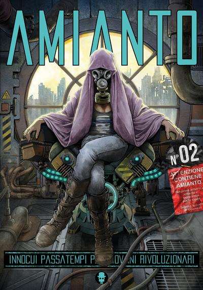 Cover image of Amianto #02, black&white