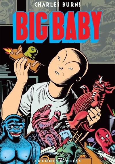 Cover image of Big Baby, black&white