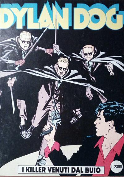 Cover image of Dylan Dog #78, black&white