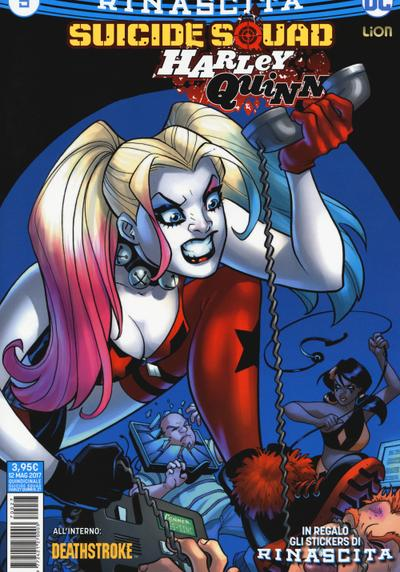 Cover image of Suicide Squad / Harley Quinn Rinascita #5, color