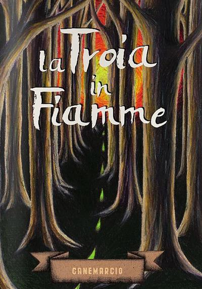 Cover image of La Troia in fiamme, black&white