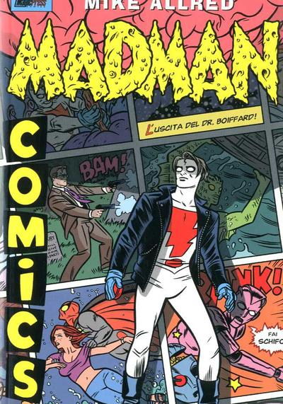 Cover image of Madman Comics #3 (ITA), color