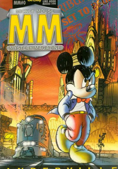 Cover image of Mickey Mouse Mystery Magazine #0, color