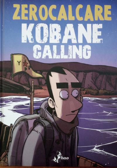 Cover image of Kobane Calling, black&white