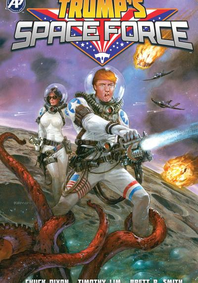 Cover image of Trump's Space Force, color