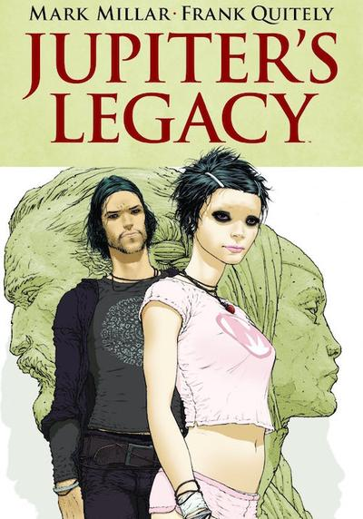 Cover image of Jupiter's Legacy, color