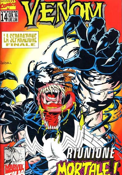 Cover image of Venom n.14 ( Marvel Italia ), color