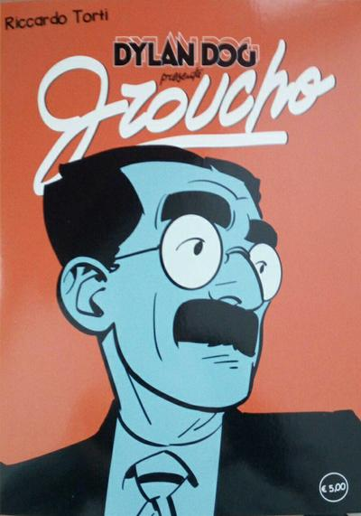 Cover image of Dylan Dog presenta Groucho #4, color