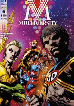 Cover image of Multiversity #9 (ITA), color